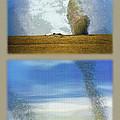 Giant Dust Devils Diptych by Steve Ohlsen