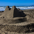 Giant Sand Castle by Garry Gay