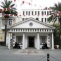 Gibraltar Embassy House Cannon Ball Uk by John Shiron