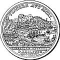 Gibraltar: Medal, 1727 by Granger