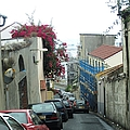 Gibraltar Old Side Street Parked Cars by John Shiron