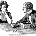 Cards, 1900 by Charles Dana Gibson