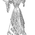 Gibson: Gibson Girl, 1903 by Granger