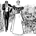 In Garden Of Youth by Charles Dana Gibson