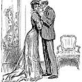 Kiss, 1903 by Charles Dana Gibson