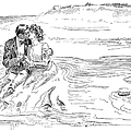 Turning Tide, 1901 by Charles Dana Gibson