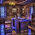 Gillette Castle Office Hdr by Susan Candelario