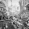 Gin Lane, William Hogarth by Science Source