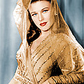 Ginger Rogers In Paramount Studio by Everett