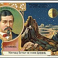 Giovanni Schiaparelli Lunar Advert by Detlev Van Ravenswaay