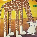 Giraffe by Sheep McTavish