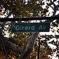 Girard Avenue In Philadelphia by Bill Cannon