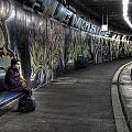 Girl In Station by Joana Kruse