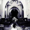 Girl In The Church by Jenny Rainbow