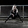 Girl On The Rail by Dwayne Girvan