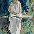 Girl Reading by Henri Lebasque