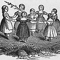 Girls Playing, 1844 by Granger