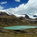 Glacial Lake In Kyrgyz Tien-shan by Michal Cerny