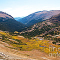 Glacier Cirque - Rocky Mountain National Park by Bob and Nancy Kendrick
