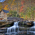Glade Creek Grist Mill At Babcock by Williams-Cairns Photography LLC