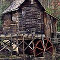 Glade Creek Grist Mill Series II by Kathy Jennings