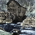Glade Creek Mill In Infrared. by Jill Battaglia