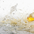 Glasses Of Beer Shattering by Dual Dual