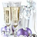Glasses Of Champagne by Amanda Elwell