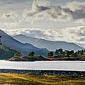 Glen Affric Panorama I by Gary Eason