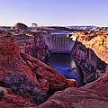Glen Canyon Dam by Jon Berghoff