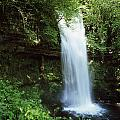 Glencar Waterfall, Yeats Country, Co by The Irish Image Collection