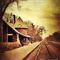 Glencoe Train Station by Jill Battaglia