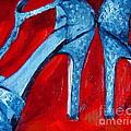 Glitter Heels by Samantha Black
