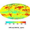 Global Carbon Dioxide Transport, 2008 by Nasajpl