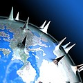 Global Pandemic, Conceptual Artwork by Robert Brocksmith