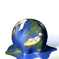 Global Warming, Conceptual Image by David Mack