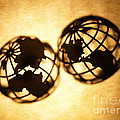 Globe 2 by Tony Cordoza