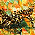 Glorious Grasshopper by Miriam  Schulman