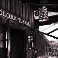Glory Tunnel Mine Entrance In Calico California by Susanne Van Hulst