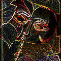 Glowing Mask With Leaves by Nareeta Martin