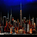 Glowing New York by Steve K