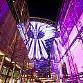 Glowing Sony Center by Mike Reid