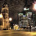 Gm Building Detroit Mi by Nicholas  Grunas