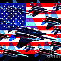 God Bless America Land Of The Free 2 by Wingsdomain Art and Photography