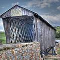 Goddard Covered Bridge by Harold Rau