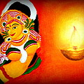 Goddess Of Art by Veena Mekkatt