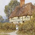Going Shopping by Helen Allingham
