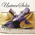 Gold And Purp Id Blazers by Joseph Boyd