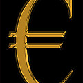Gold Euro  by Andrew Fare