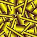 Gold Pattern C   by Raymond Youm